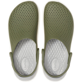 Crocs LiteRide Clogsit, army green/white
